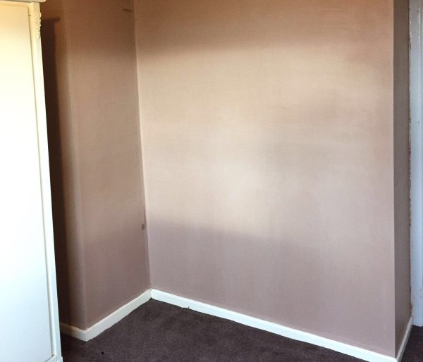 project for plasterer in Grappenhall - image shows a finished plastered living room
